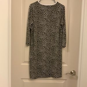 Jones New York Dresses - JONES NEW YORK SIGNATURE SNAKESKIN PRINT DRESS
